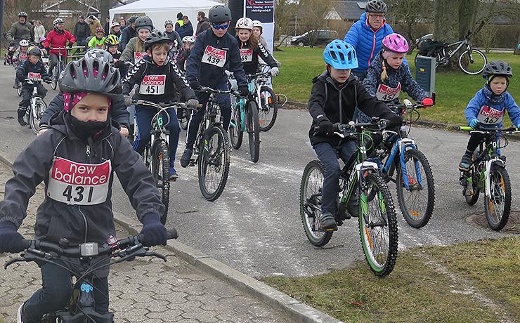 Cykelsponsorløb en stor succes i Sønderholm