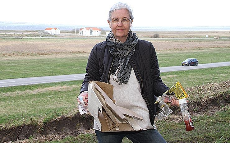 Foreninger og borgere i Nibe sammen om indsamling af affald i naturen