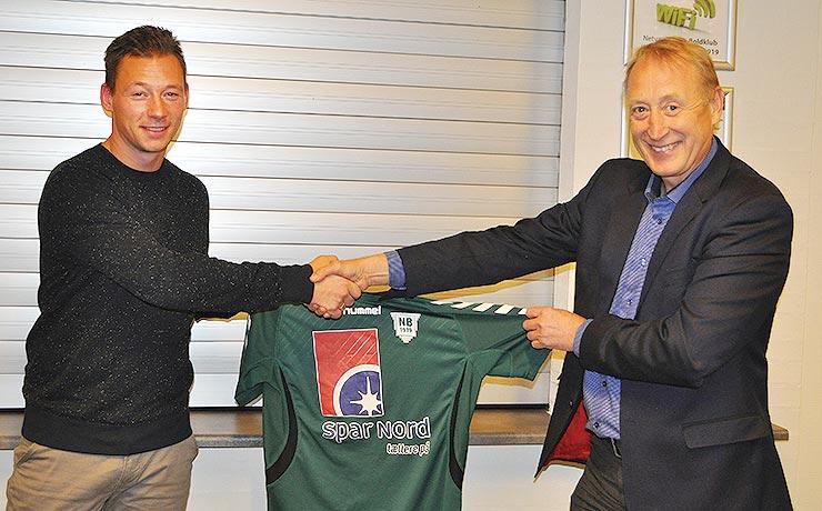 Ny spillende førsteholds-træner i Nibe Boldklub