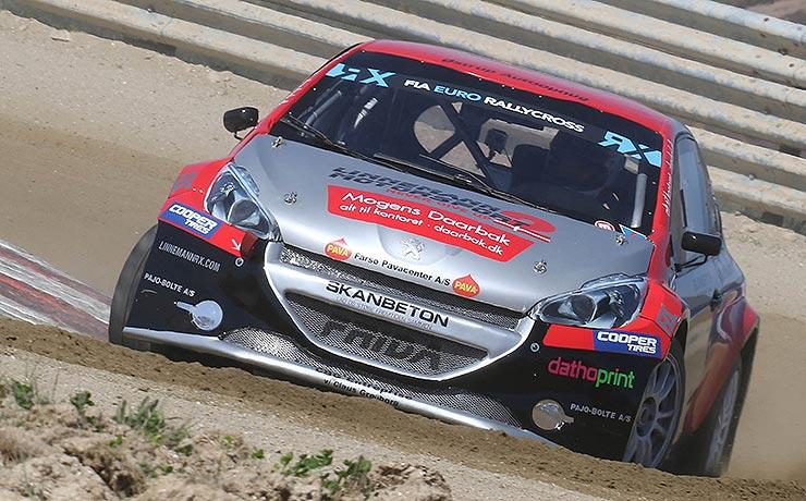 Skivum-racer satte rallycross konkurrenter på plads