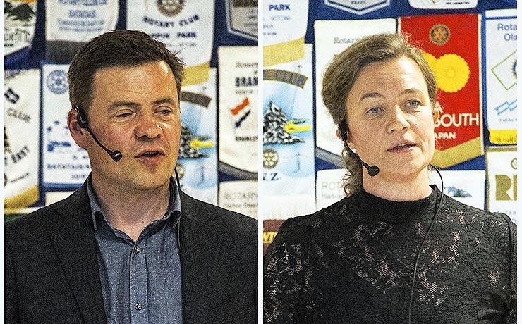 Lokale ambitioner på vågeblus ved borgmester-duel