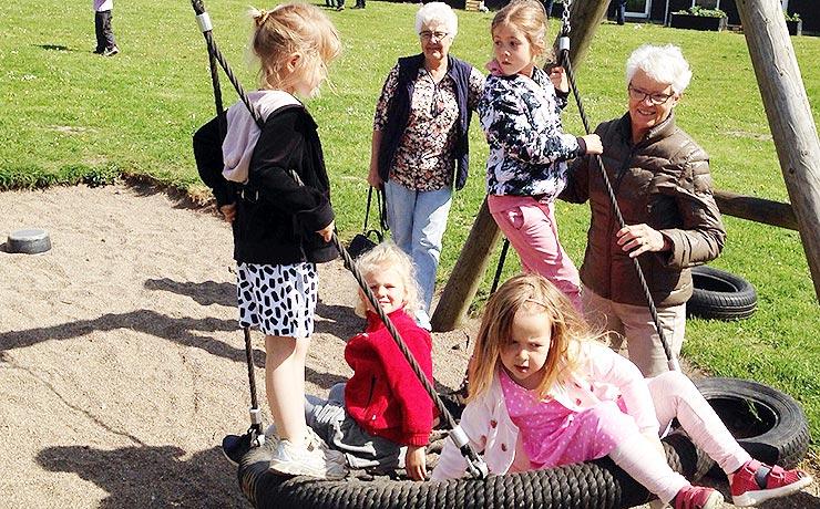 Festlig, og musikalsk bedsteforældredag