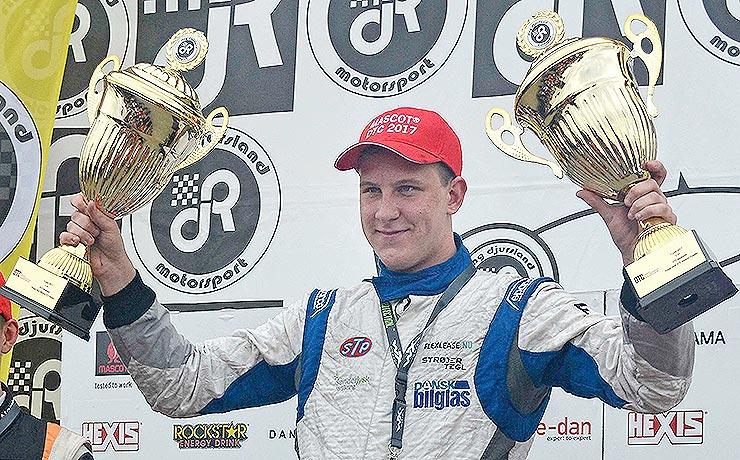 Lasse L. Sørensen med helt fremme i Mascot Danish Thundersport Championship (DTC)