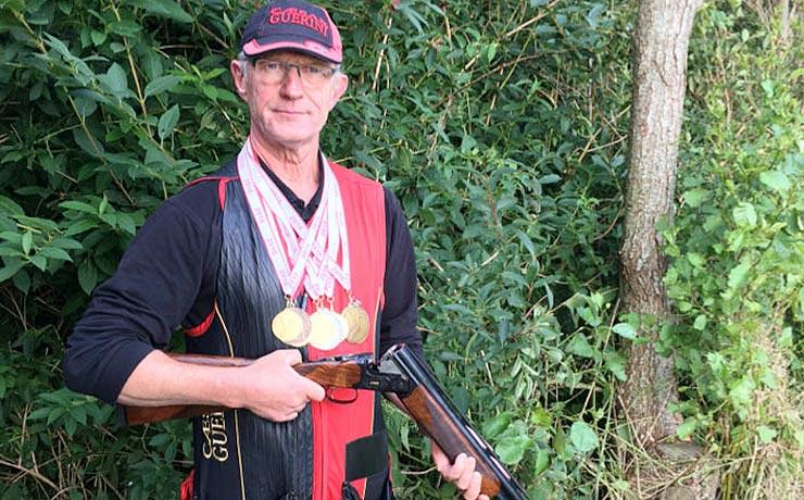 Fem DM-titler i jagtskydning på to år