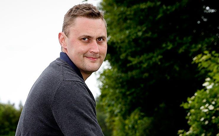 Morten fra Skivum i TV2's »Landmand søger kærlighed«