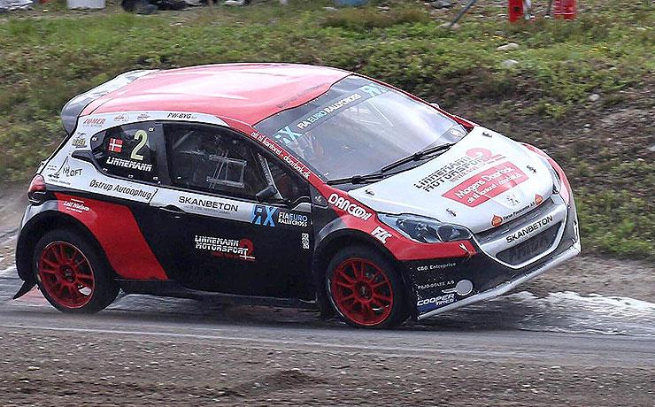 Ulrik Linnemann sigter mod Super Car i Rally Cross