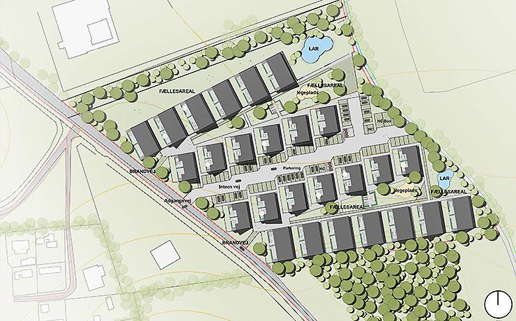 Nye boliger og nye områder på vej i Nibe