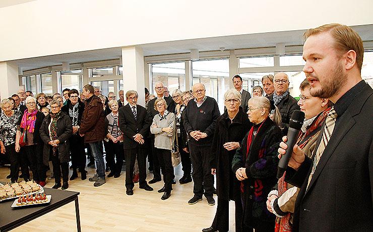 Sognegården i Nibe indviet under stor opmærksomhed