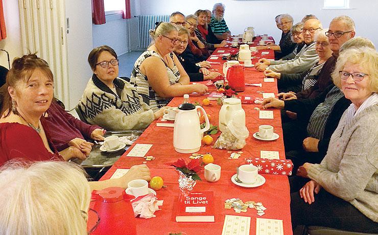Røde Kors Besøgstjeneste holdt julehygge