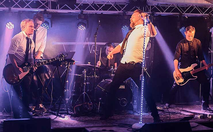 Lyse tider i vente for lokalt pop-band