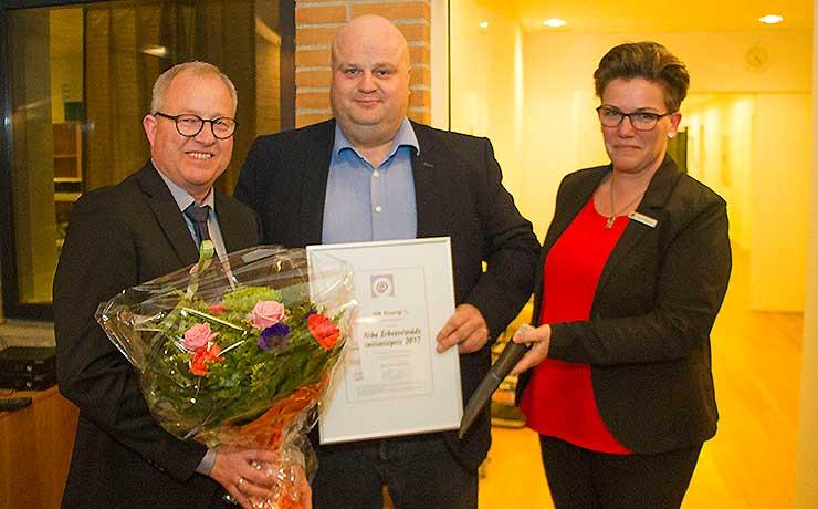 Erhvervsrådets formand tildelt den årlige initiativpris