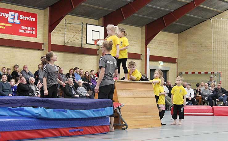 Flot og vellykket opvisning i Farstrup