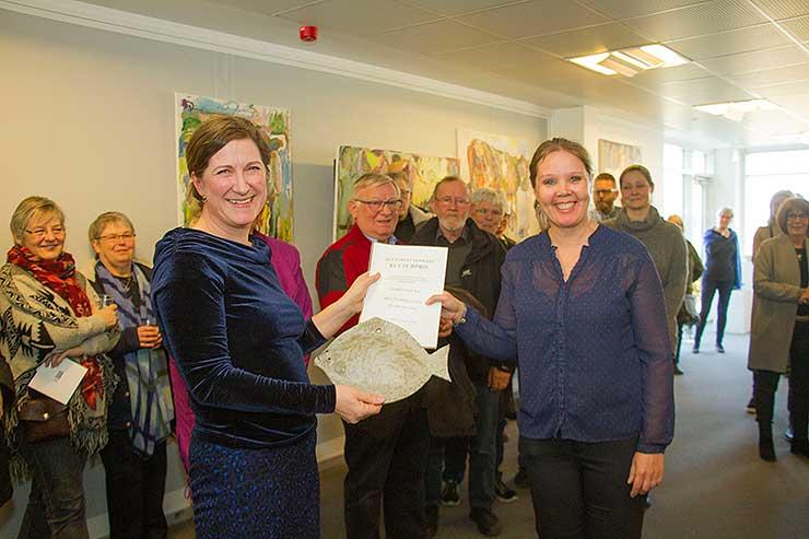 Kulturbrugsen i Sebbersund modtog Kulturelt Samråds Kulturpris