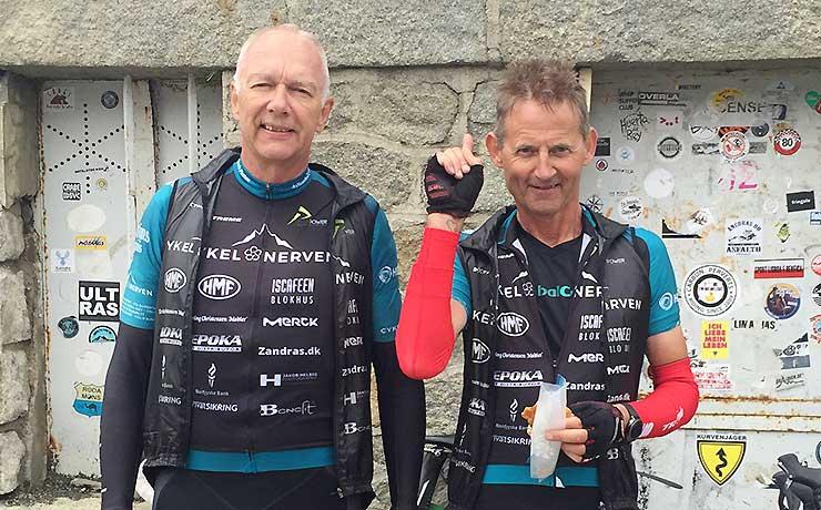 NAB-ryttere har besejret legendarisk bjerg på cykel