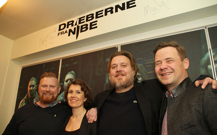 Dræberne til gallapremiere i Kino Nibe og på Jernkroen