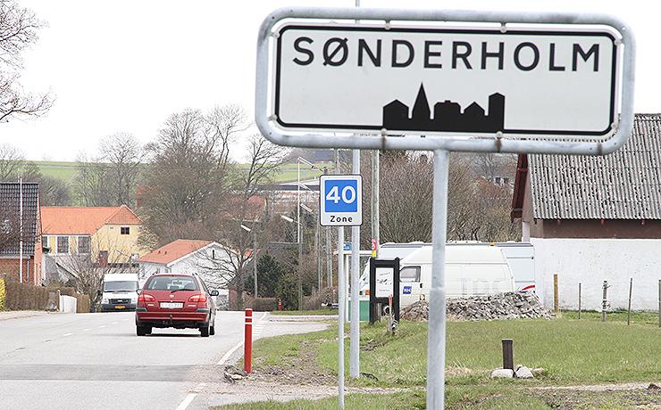 Julegave til Sønderholm by