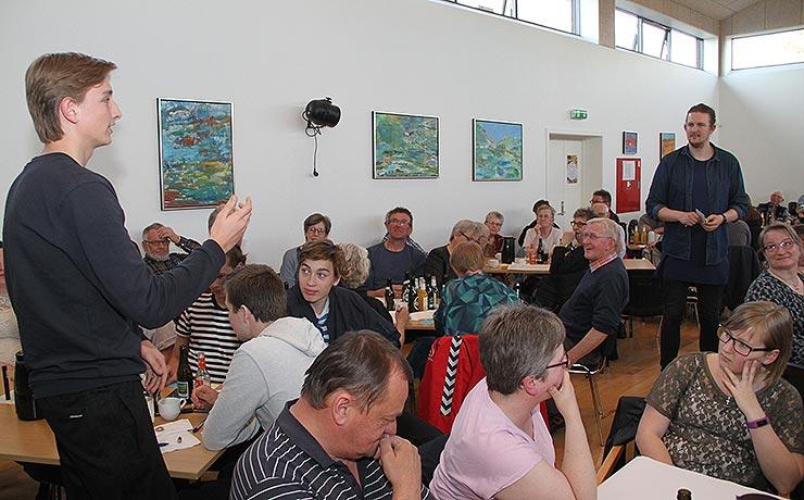 105 til møde om fremtidens købmand i Vegger