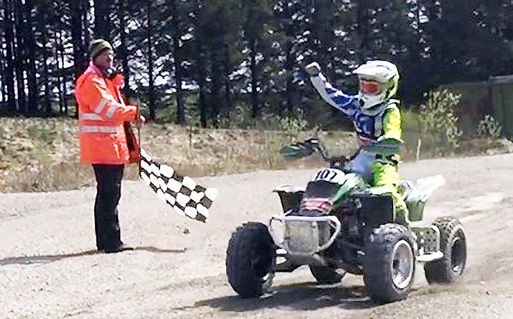Motorsportstalent fra Nyrup vandtafdeling i Nordisk Mesterskab