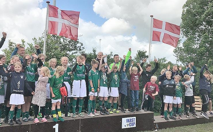 Ædle metaller og Fairplaypris til Nibe Boldklub