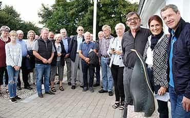 Lundby fik kunst til nyt torv ved kultur- og forsamlingshus
