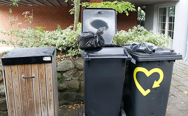 2. oktober er affalds mandag i Aalborg Kommune