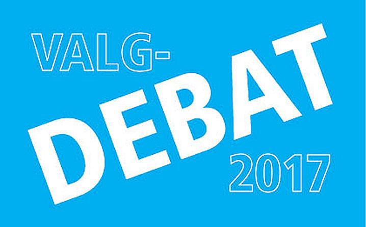Debat i forbindelse med valg til byråd og regionsråd