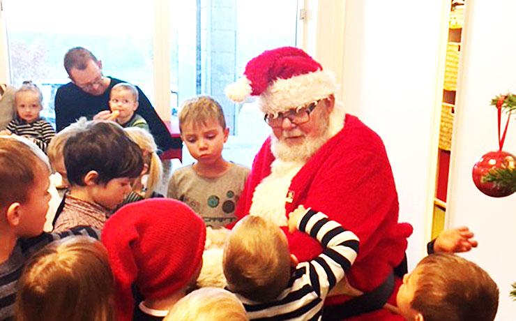 Julehygge i BørnehusetLunden i Nibe