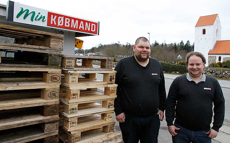 Benjamins plan: Ny købmandsbutiki Farstrup skal stå klar om to år