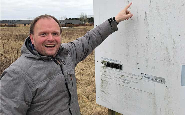 Farstrup: Jordfond kan åbne for salg af byggegrunde på Højageren