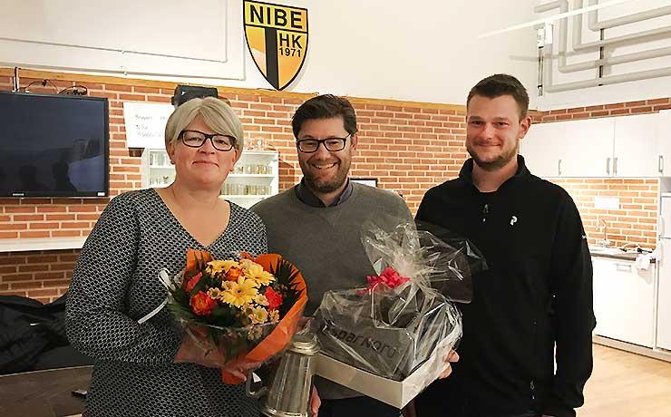 Annette Jensen blev Årets Nibe HK'er