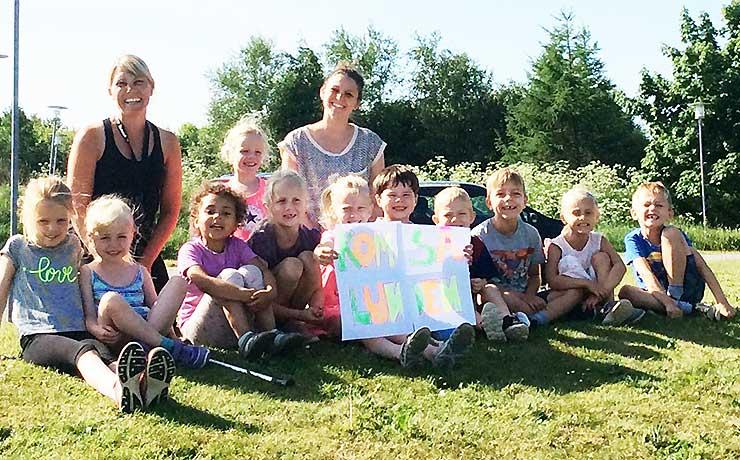 Børnehuset Lunden genvandt Børneløbet