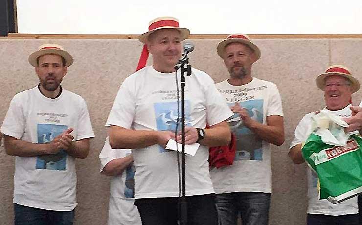 Aktiv foreningsmand blev ny storkekonge i Vegger