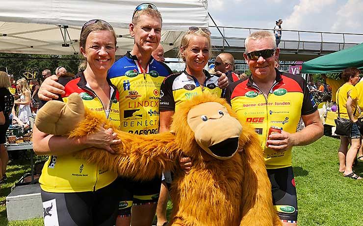 Farstrup-kvartet på cykel til Paris