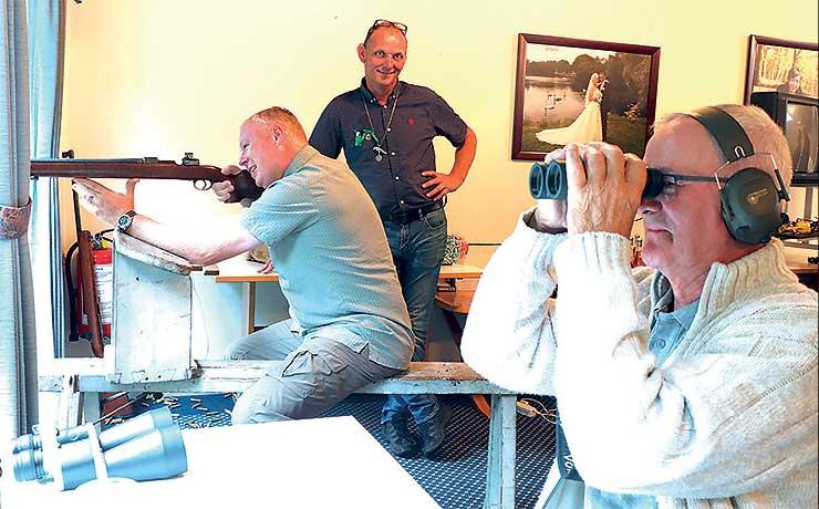 29 skytter skød tilskiven i Skalskoven