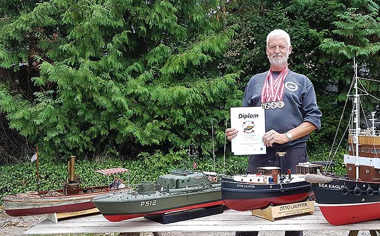 Staun har fået rennaisance som søfartsby – nu for modelfartøjer