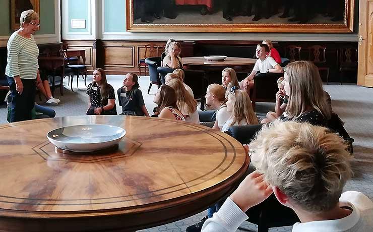 Demokratisk dannelse i fokus for Skørbæk-Ejdrup elever