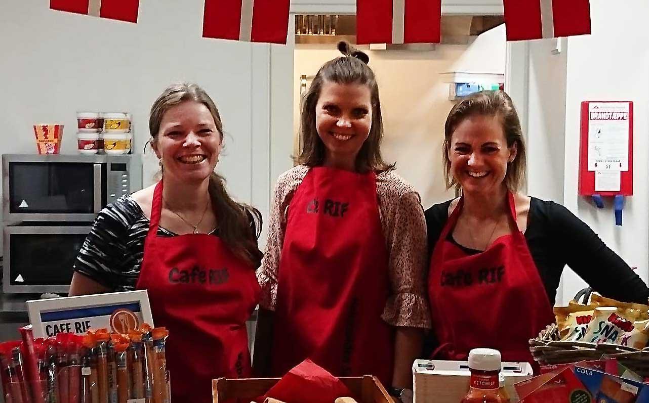 RIF's nye kantine i Frejlevfik forrygende start