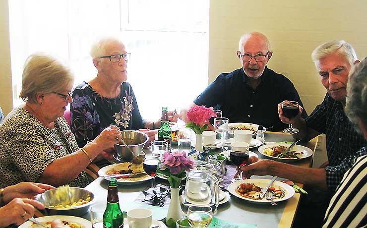 52 spiste sammen i Sønderholm