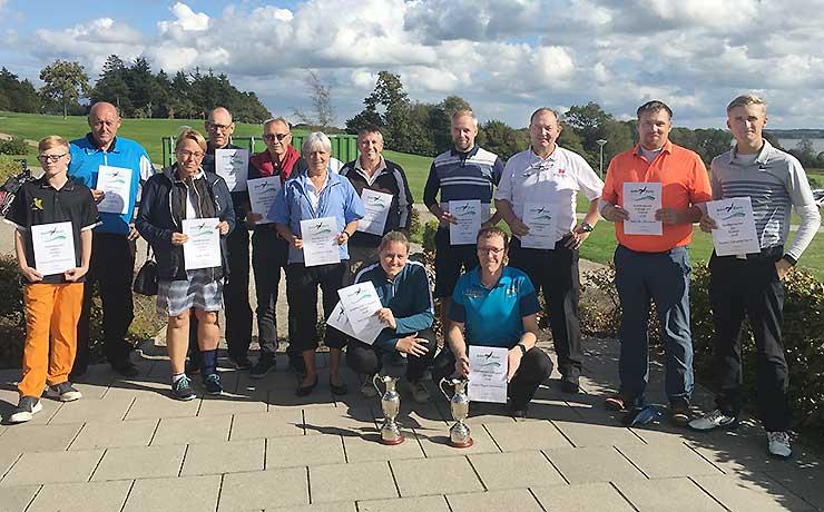 Nye klubmestre kåret iSebber Kloster Golfklub