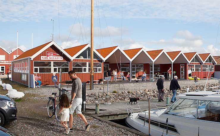 Million tilskud styrker Nibe Sejlklubs klubhus projekt