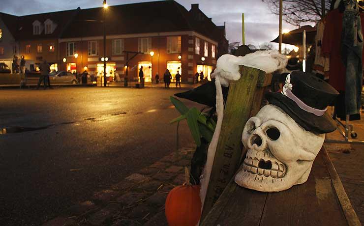 Nibe går helt Halloween torsdag