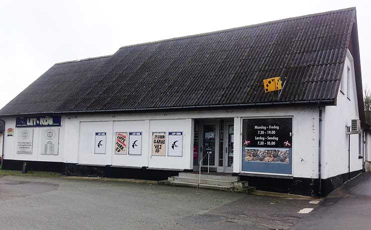 Tidligere butiksejendom i Barmer er udset til nedrivning