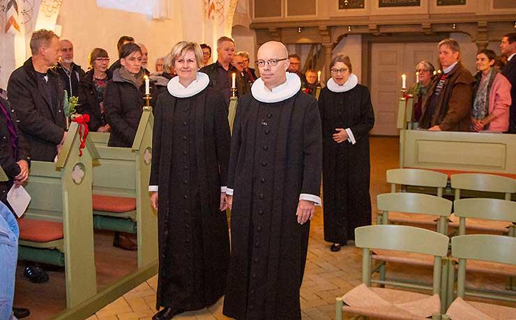 Provst og sognepræst indsat i Vokslev og Nibe kirker