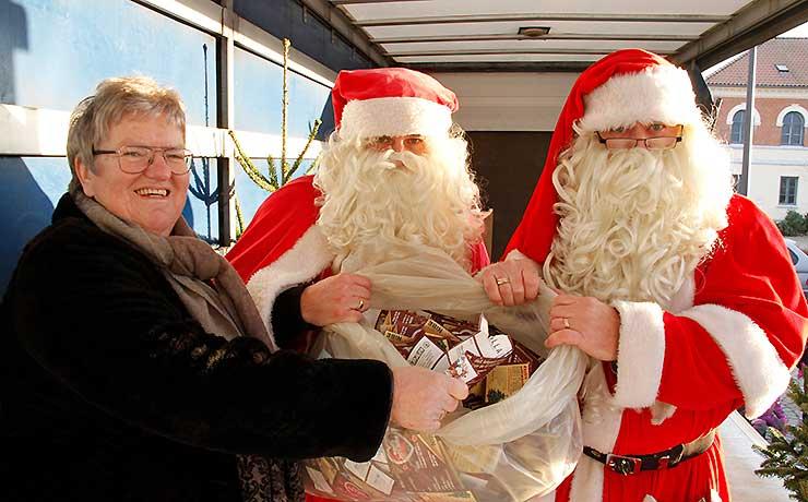 Søndagens vindere af gavekort i Nibes julelotteri