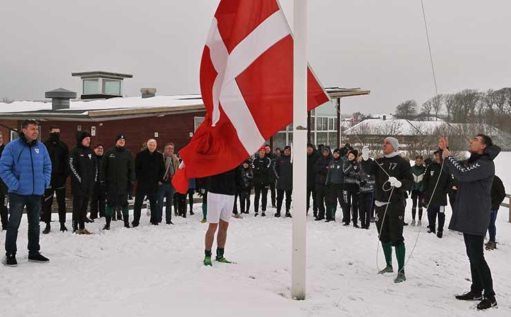Nibe Boldklub indledte jubilæumsårets fodboldsæson