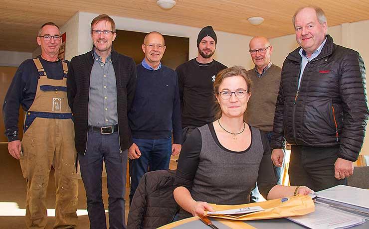 Valsted-foreninger etablerer nytmødested i landsbyens klubhus
