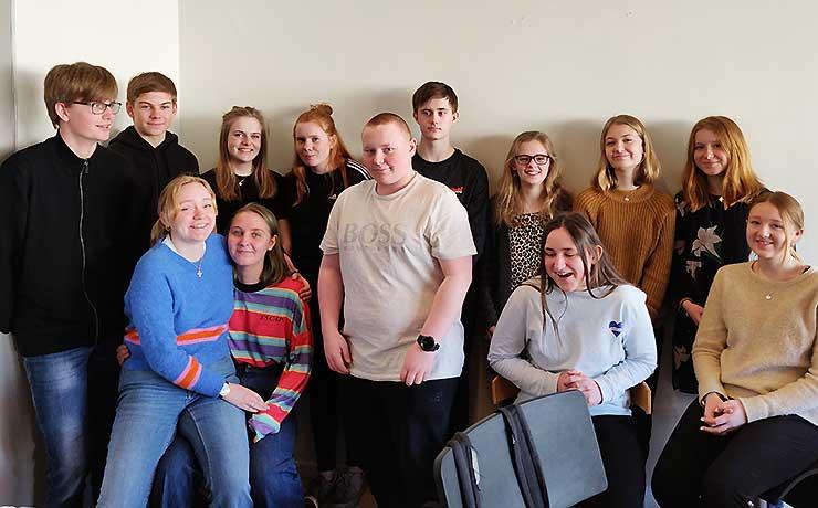 Nibe-elever til klimastrejke