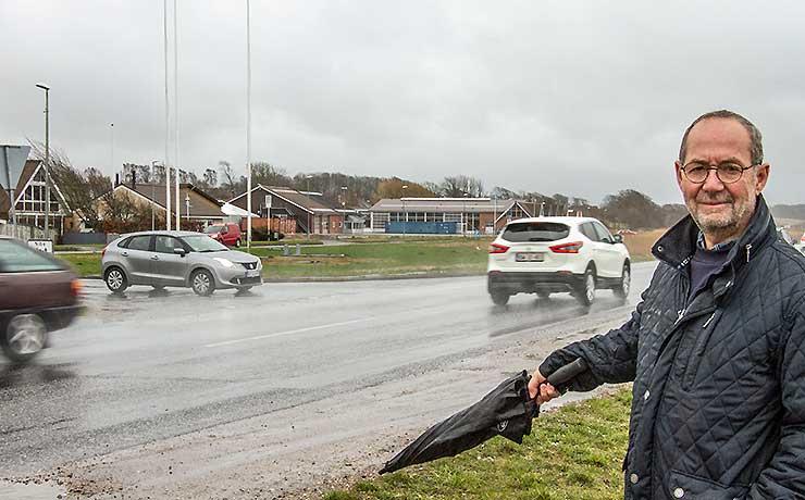 Trafiksikring ved omfartsvej ogspildevandsplan sættes i debat