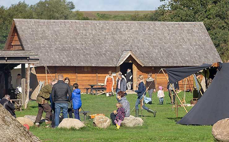 Vikingerne på fremfærd i Sebbersund