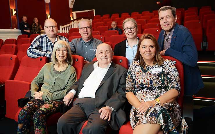 Trofaste Kino frivillige fik hæder på 25 års dagen